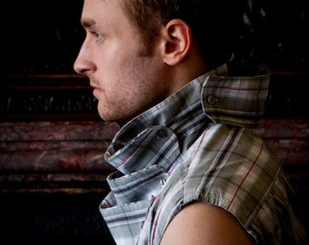 SALE Eco-K'ture Five Collar 'ARMOUR' Shirt