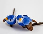 Blue Birds Hair Accessories