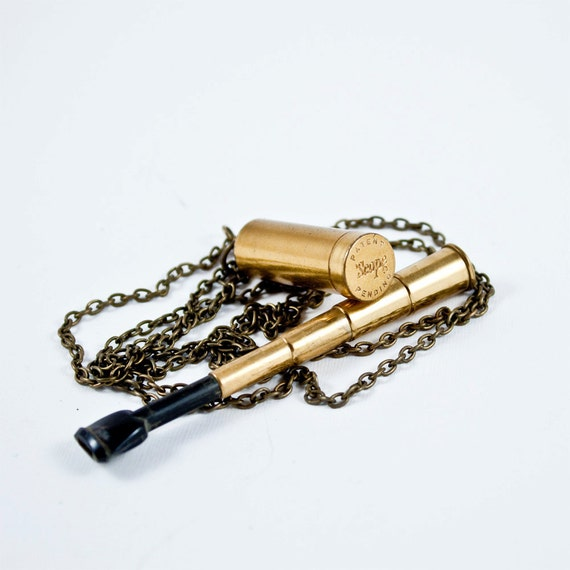Vintage Telescopic Cigarette Holder Necklace