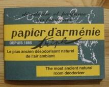 Papier D'Armenie Incense- the most ancient natural room deodorizer