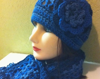 Crocholie Hat and scarf