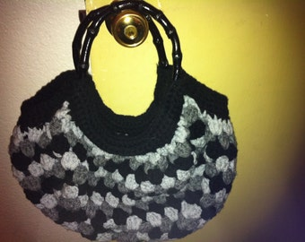 Crochet Granny Bottom bag