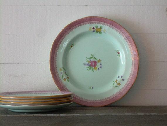 Calyx Ware handpainted plates