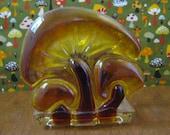 SALE - New Designs Inc. Vintage Mushroom Letter or Napkin Holder