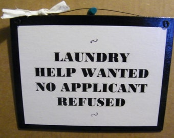 Laundry Room Help Wanted Sign Laundry Printable Laundry Room Help Wanted Funny Laundry