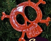 Skull & Crossbones Necklace or Ornament