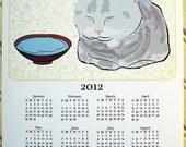 2012 Wall Calendar - Charlotte the Cat