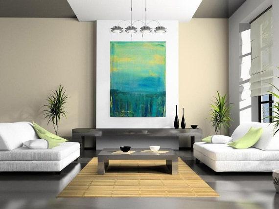 "SALE:  Harbor Bay.  30x40""Acrylics on Gallery Canvas."