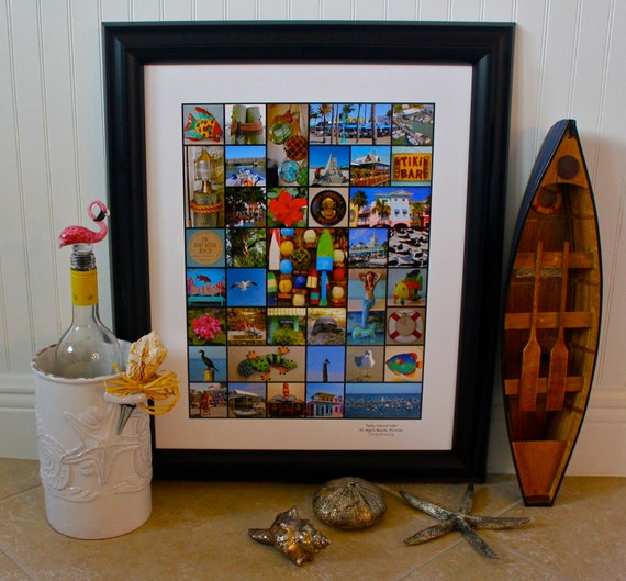 Salty Island Life 16 x 20 signed nautical photo print (Also available in B&W)