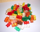60 Sweet Fruity Glycerin Gummy Bear Soaps 6 Ounces