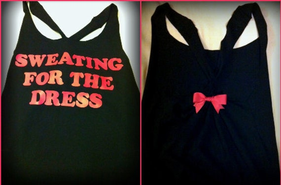 Sweating for the Dress Work-out Tank Top