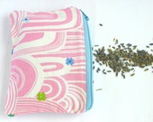 Maxi Lavender Sachet,  Pink Refillable Dryer Bag, Zippered Lavender Sachet, Mother's day gift idea
