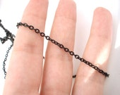 2 M (6.56ft) - 5mm Link . Black Chain - CO-015