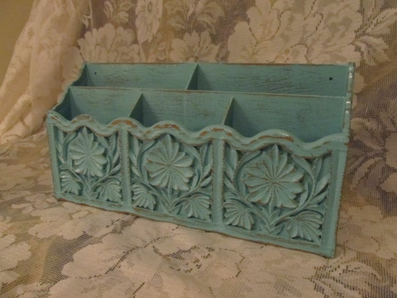 Shabby Chic Letter And Biller organizer