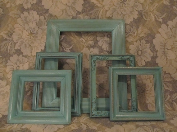 Five Shabby Chic Frames