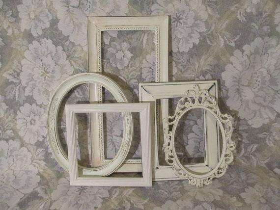 Five Shabby Chic Frames