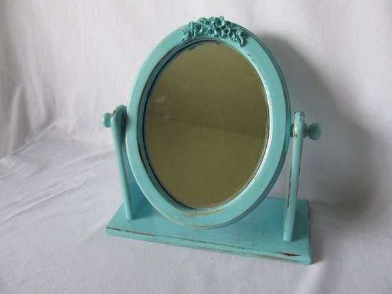 Shabby Chic Table Top Mirror