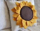 Sunflower Pillow Pattern DIY Tutorial flower pattern how to