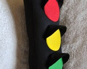 Traffic Light Plush Pillow PDF Tutorial Pattern