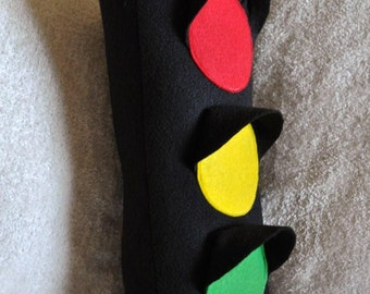 Traffic Light Plush Pillow PDF Tutorial Pattern