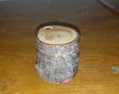 Spruce rustic ring box