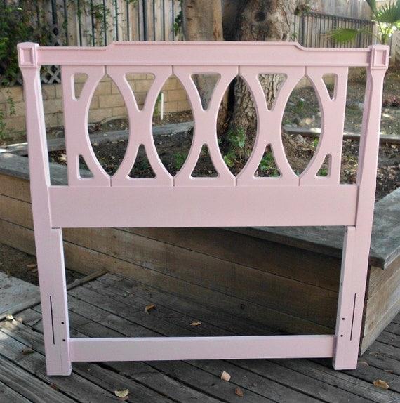 Pretty in Pink  French Regency Twin Headboard