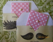 Mini-Cards: Pearly Girly Kiss a Mustache