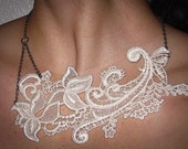 Beautiful lace necklace--Anne