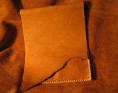iPad or Android Tablet sleeve distressed leather tan