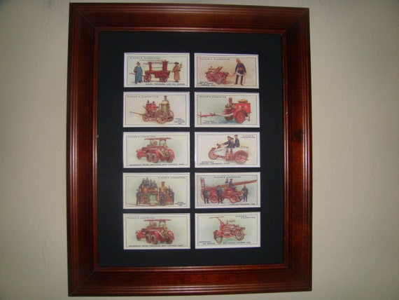 FIRE FIGHTING - Vintage Pictures (available framed or unframed)