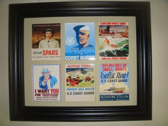 US COAST GUARD - Recruitment Posters