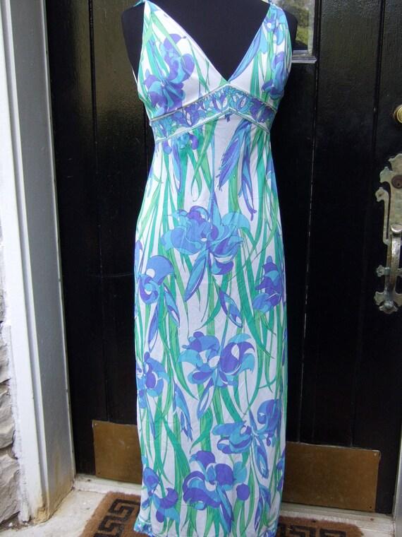 Emilio Pucci Vintage 1970s Nylon Slip Gown