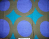 Vintage Sixties Mod Op Art Geometric Fabric