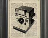 A Polaroid camara  - Printed on intelligent page  -  250Gram paper.