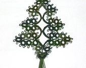 Christmas Tree Tatted Bookmark - FREE SHIPPING