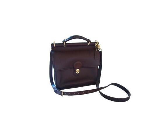 Coach Willis Leather Bag