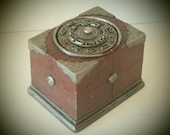 Custom Steampunk Deck Box for MTG Sleeved Cards Perfect for EDH Decks Available in any color