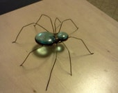 Unique, Small Handcrafted Stained Glass Spider