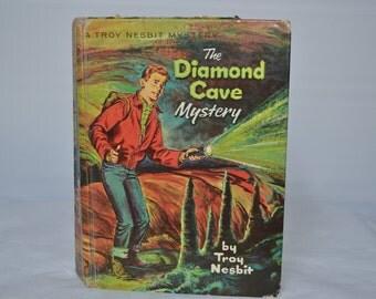 The Diamond Cave Mystery by Troy Nesbit - Vintage Book