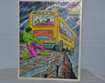 Vintage Incredible Hulk Puzzle