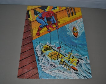 Vintage Amazing Spiderman Puzzle