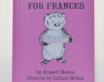 Vintage A Bargain For Frances Kids Book - 1970 - Weekly Reader Book - Russell Hoban - I Can Read Book