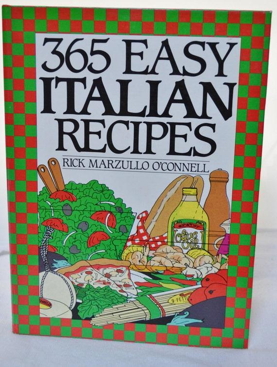 First Edition - 365 Easy Italian Recipes