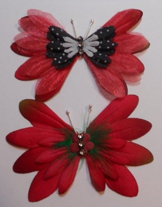 Handmade Butterflies - Embellishments