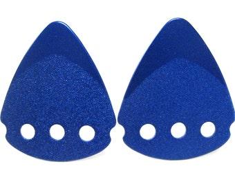 Blue Guitar Pick Cufflinks