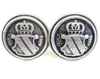Crown Crest Cufflinks
