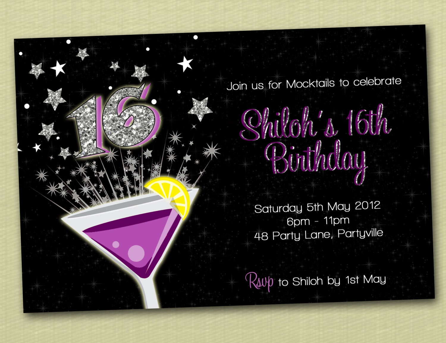 18Th Birthday Party Invitations Free for adorable invitation example