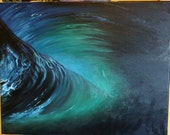 "Ocean oil painting ""Otherside"" ON SALE"