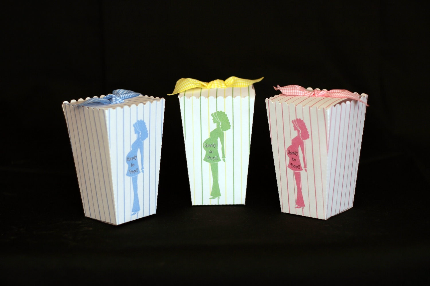 baby shower popcorn favor boxes set of 50