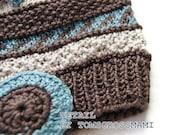 Eco Baby/Toddler Hat 100% Silk Handmade in Switzerland